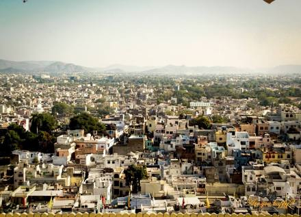 Udaipur - View from City Palace