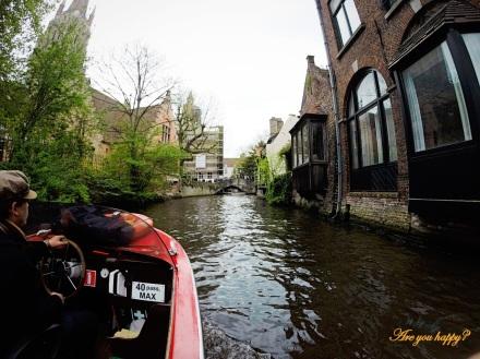 Bruges - Boat ride